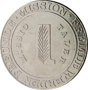 1 Missio Taler (Phillippines) – reverse