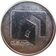 Parking Token - C. S. Inc. – obverse