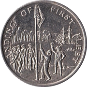Australia 200 Years Medal Collection (The landing of the first fleet) – obverse
