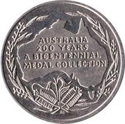 Australia 200 Years Medal Collection (John Macarthur) – reverse