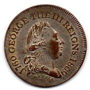 Token - George III (Reigns 1760-1809; Kettle & Sons) – obverse