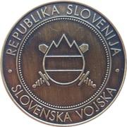 Token - Slovenska vojska (670. POVLOGB) – reverse
