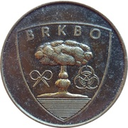 Token - Slovenska vojska (BRKBO) – reverse