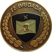 Token - Slovenska vojska (72. Brigada) – reverse