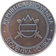 Token - Slovenska vojska (LOGB) – reverse