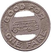 1 Fare - Dedham Transit Lines Inc. – reverse