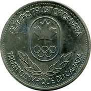 Token - Olympic Trust of Canada (Volleyball) – reverse