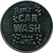 Car Wash Token - Ron's Car Wash (Ottawa, Ontario) – obverse