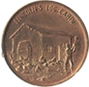 Token - Great Americans (Abraham Lincoln) – reverse