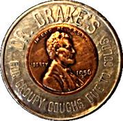 Encased Token - Dr. Drake's Croupy Coughs – obverse