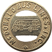 10 Cents - McDonald Bus Lines, Inc. (Girard, Ohio) – obverse