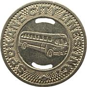 1 Fare - Spokane City Lines, Inc.  (Spokane, Washington) – obverse