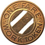 1 Fare - L. & C.C.M.T. Co. Inc.  (Beaver Meadows, Pennsylvania) – reverse
