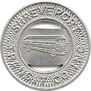 1 Student Fare - Shreveport Transit Co. Inc. (Shreveport, Louisiana) – obverse