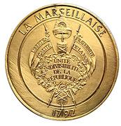Token - L'Histoire de la Révolution Française (La Marseillaise) – reverse
