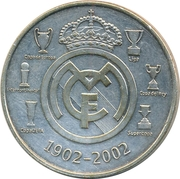 Token - Real Madrid – reverse