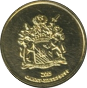 Token - Saint Petersburg (Palaces of the Russian Museum - Stroganov Palace) – reverse