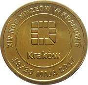 1 Złotówka - Krakow (14th Museum Night) – reverse