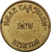 Car Wash Token - Real Car Wash (Wilrijk) – obverse
