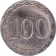 100 Pfennig (Spielgeld) – reverse