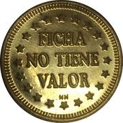 Token - Ficha No Tiene Valor (22.8 mm) – reverse