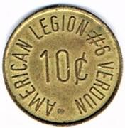10 Cents - American Legion (Verdun) – obverse