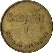 Car Wash Token - Schmitt – obverse