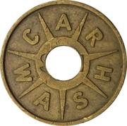 Car Wash Token – reverse