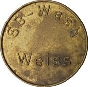 Car Wash Token - SB Wash Weiss – obverse
