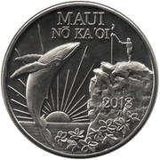 Maui Trade Dollars – obverse