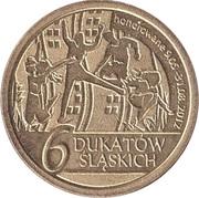 6 Dukatów Sląskich (II issue) – reverse