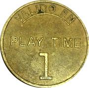 Token - 1 Play Time – obverse