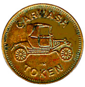 Carwash Token - Cascade Car Wash (Portland, Oregon) – reverse