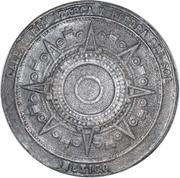 Token - Aztec Calendar and Aztec Sun Stone – obverse