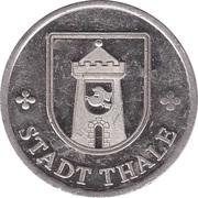 Token - 75 Jahre Stadt Thale – obverse