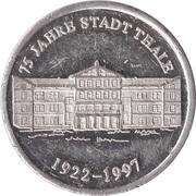 Token - 75 Jahre Stadt Thale – reverse
