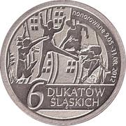 6 Dukatów Sląskich (II issue; Copper-nickel) – reverse