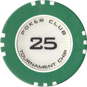 Token - Poker Club Khreschatyk (25) – reverse