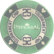 Token - Poker Club Imperial (25) – reverse
