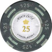 25 Dollars - Poker Room Monte Carlo (Las Vegas, Nevada) – obverse