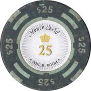 25 Dollars - Poker Room Monte Carlo (Las Vegas, Nevada) – reverse