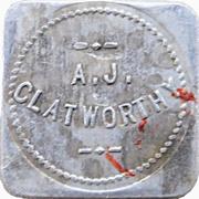 1 Pint Milk - A. J. Clatworthy (Delta, British Columbia) – obverse