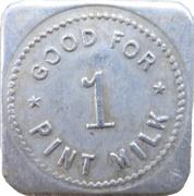 1 Pint Milk - A. J. Clatworthy (Delta, British Columbia) – reverse