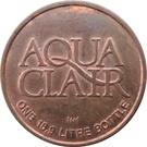 1 Bottle - Aqua Clair (Abbotsford, British Columbia) – obverse