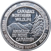 Token - Canada's Northern Wildlife (Grizzly Bear) – obverse