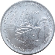 Token - Great Canadian Moments (Opening of St. Lawrence Seaway) – obverse