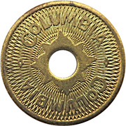Amusement Token - Columbia (Grand Forks, North Dakota) – obverse