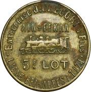 10 Centimes - J. Gregori & Fils (Aïn-Fekan) – obverse