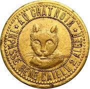 Token - Au Chat Noir (Alger) – obverse