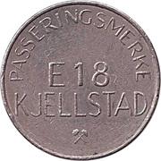 Transit Token - Passeringsmerke Kjellstad – obverse
